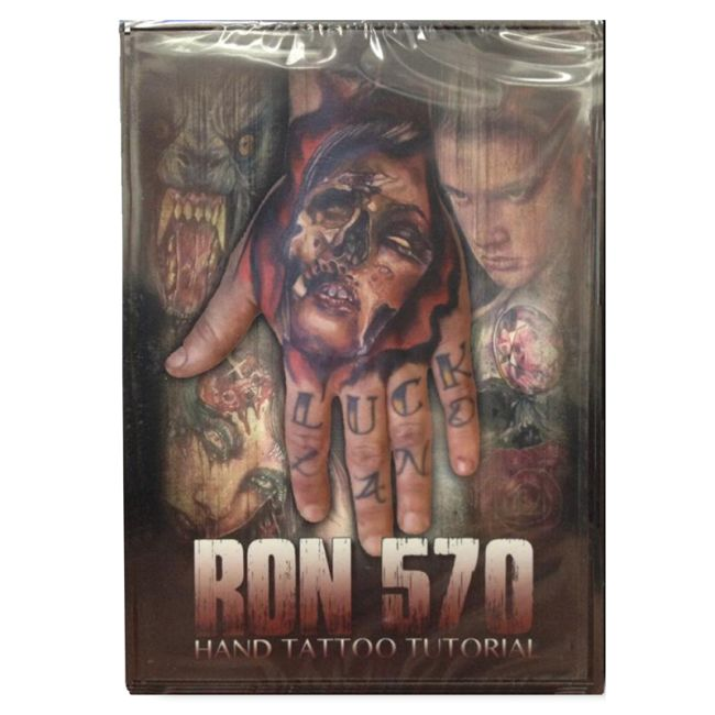 Ron 570 hand tattoo tutorial dvd from diversified rockstar for How to tattoo dvd
