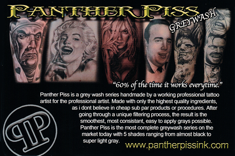 Panther piss products 1