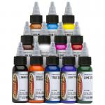 Eternal Tattoo Ink Primary Color Set