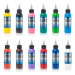 Fusion tattoo ink  12 Color Primary  Set