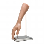 Steel Display Stand for A Pound of Flesh Synthetic Arm