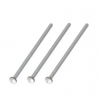 Nostril Pin - Long with Jewel (10 Pack)