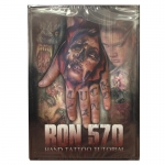 Ron 570 Hand Tattoo Tutorial DVD